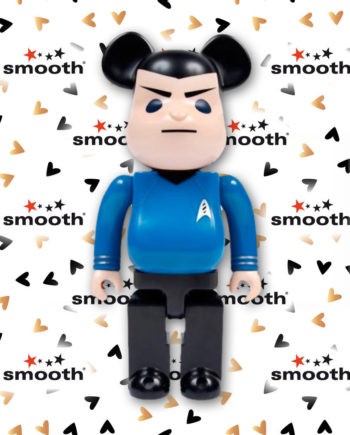 Medicom Toy Bearbrick 400% Star Trek Spock Limited Edition 2010