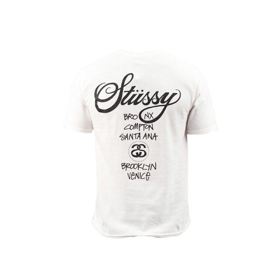 Stussy World Tour SS Tee White 3903142