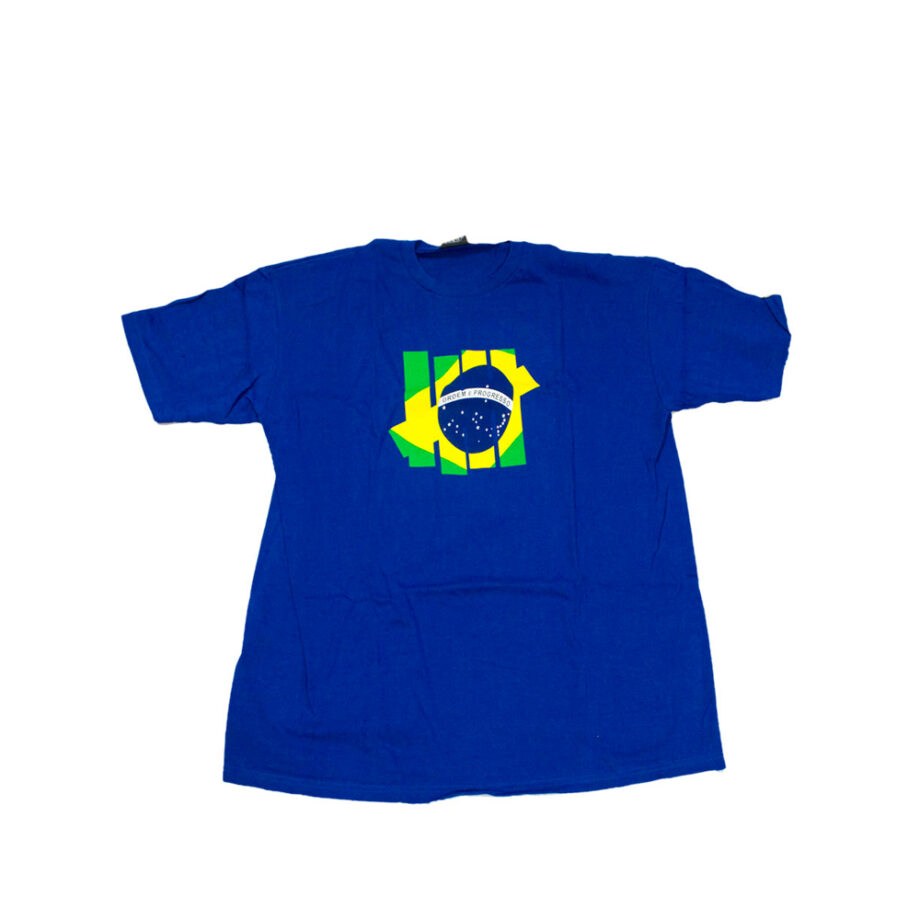 Undefeated World Cup 2010 Brazil T-Shirt Blue Limited Edition