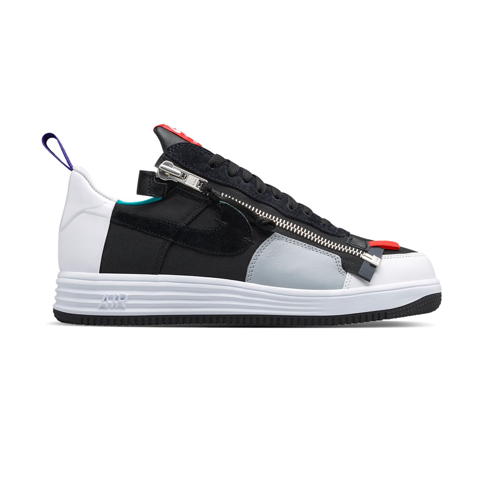 super popular 48083 97734 Acronym Nike Lunar Force 1 Zip SP Black Turbo Green Cod. 698699-002