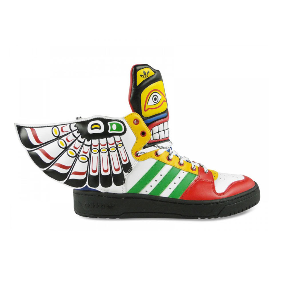 Adidas Jeremy Scott ObyO Eagle Wing Totem multicolor