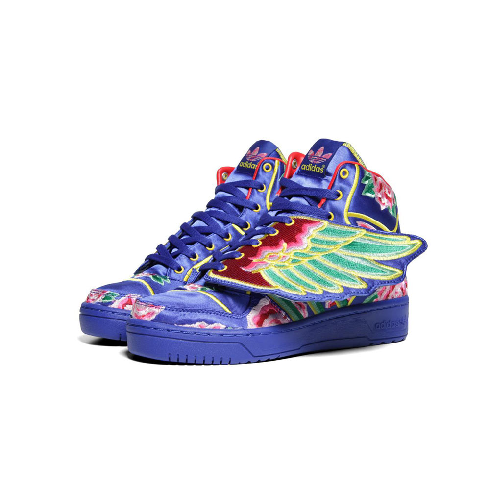 new concept 01322 2b09a Adidas ObyO Jeremy Scott Eason Chan Wings Chinese New Year