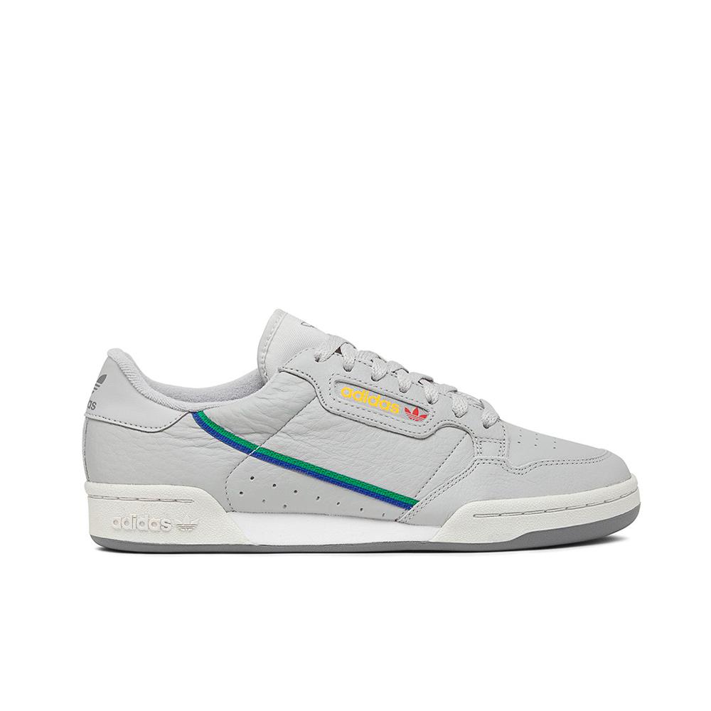 Adidas Originals Continental 80 Sneakers CG7128 GreyTwoGreyOneScarlet