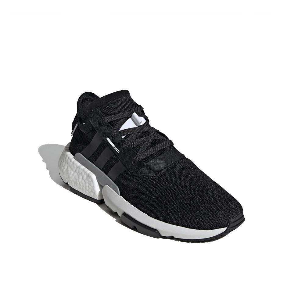 ADIDAS Originals Burgundy Pod S3.1 Woven Design Sneakers