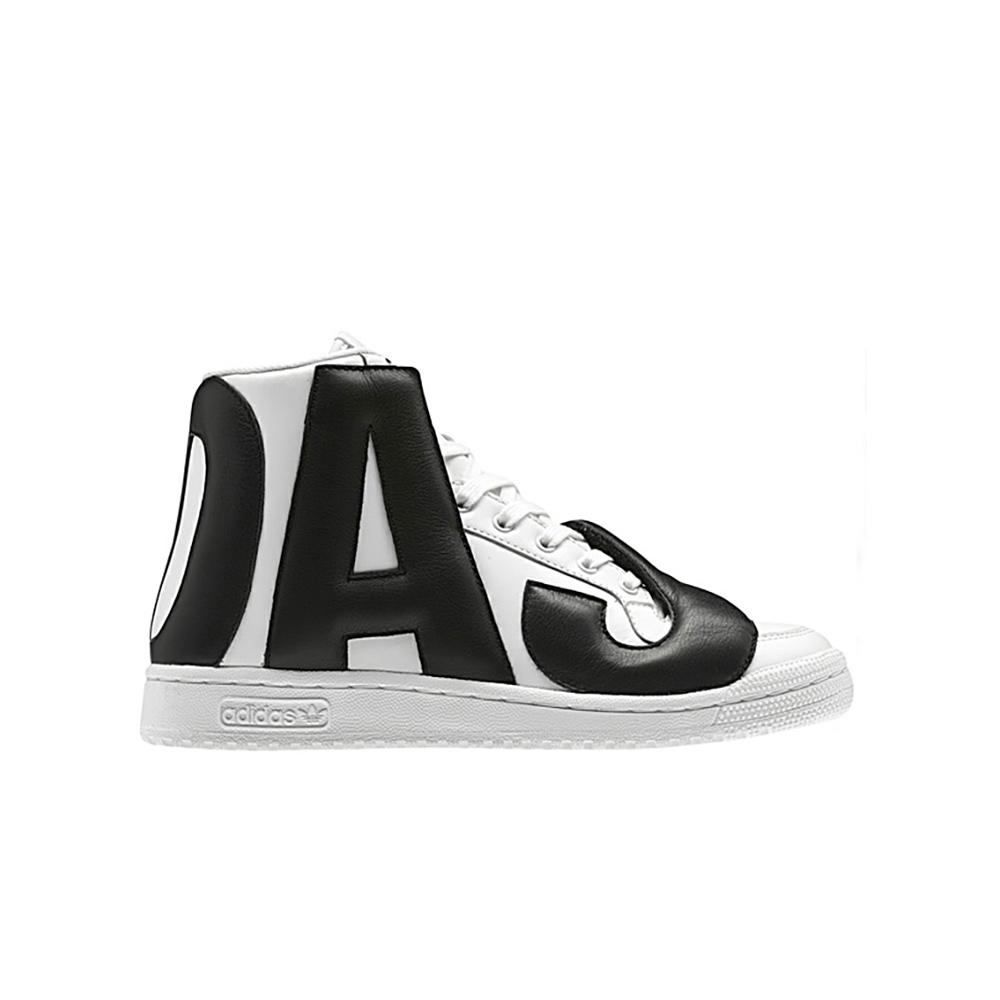 Adidas Originals X Jeremy Scott JS Letters Q34114 WhiteBlack