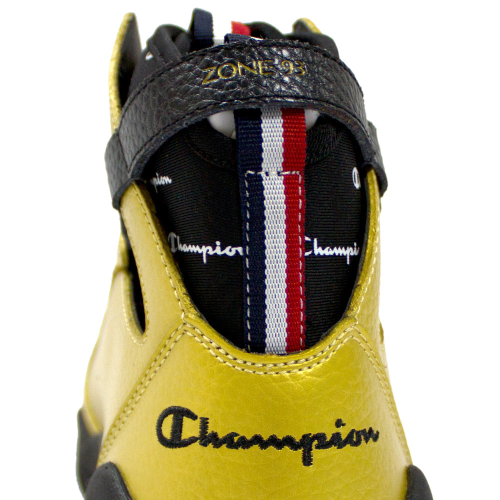 4c801df9a1e4c Champion Zone 93 High Leather Gold   Red limited edition