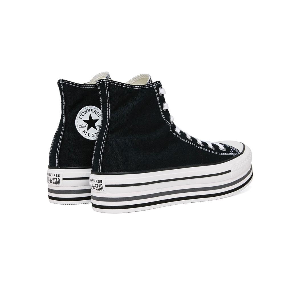 Converse Chuck Taylor All Star Platform Layer Hi 564486c BlackWhiteThunder