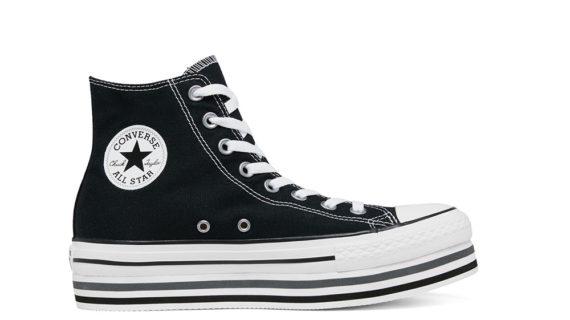 New Converse Chuck Taylor All Star Platform Layer Bottom