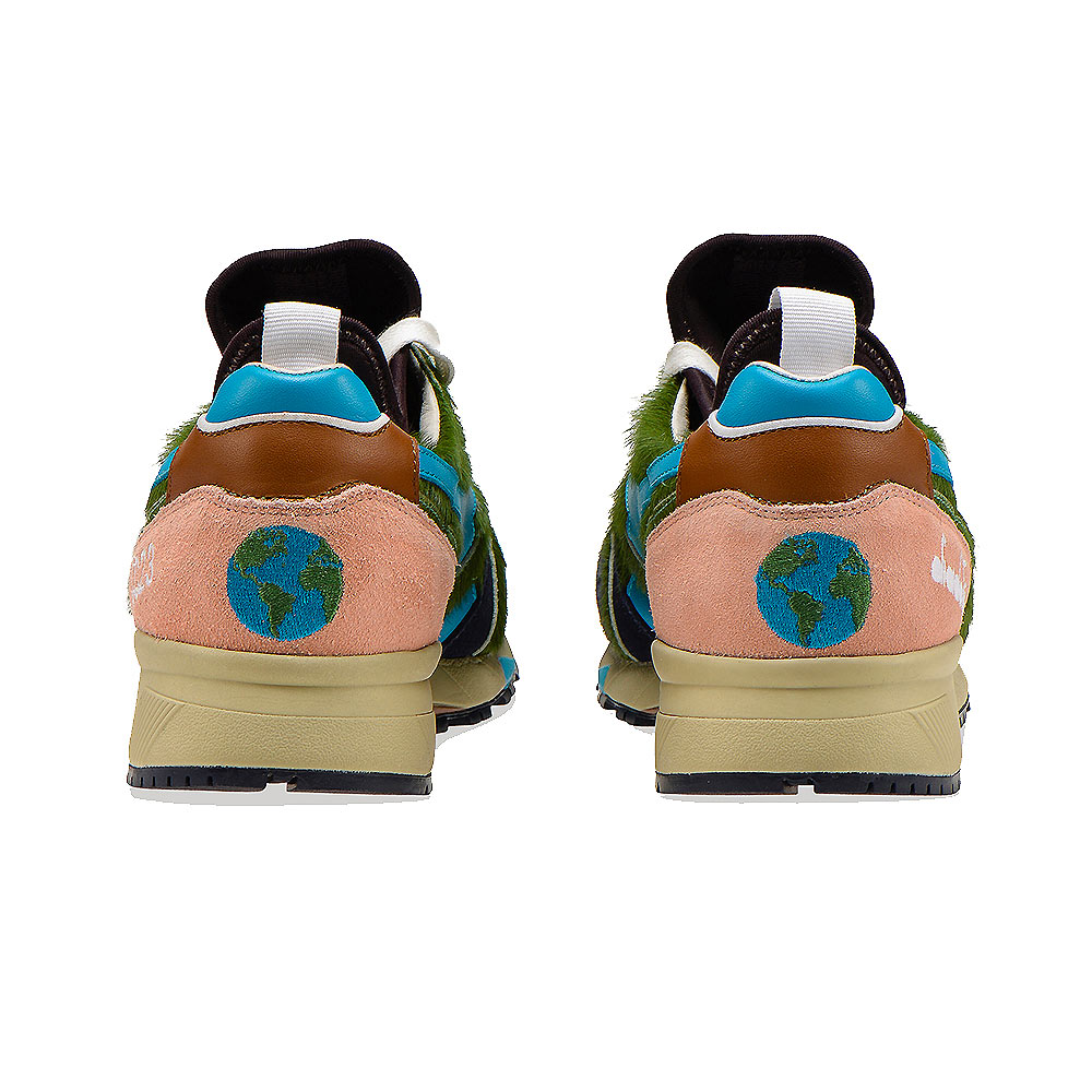 Diadora N9000 Socks Terra LC23 Heritage Shoes 201.173949 Green
