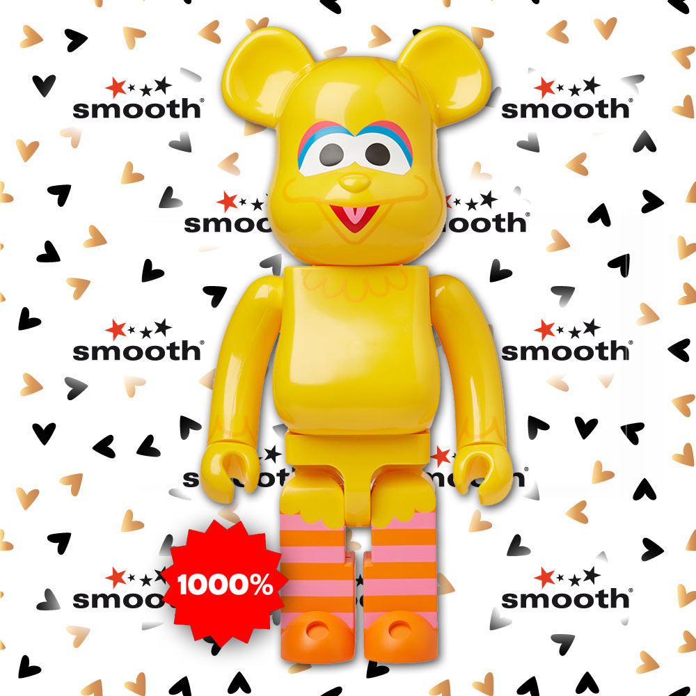 Medicom Toy Big Bird Sesame Street Bearbrick 1000% Limited Edition