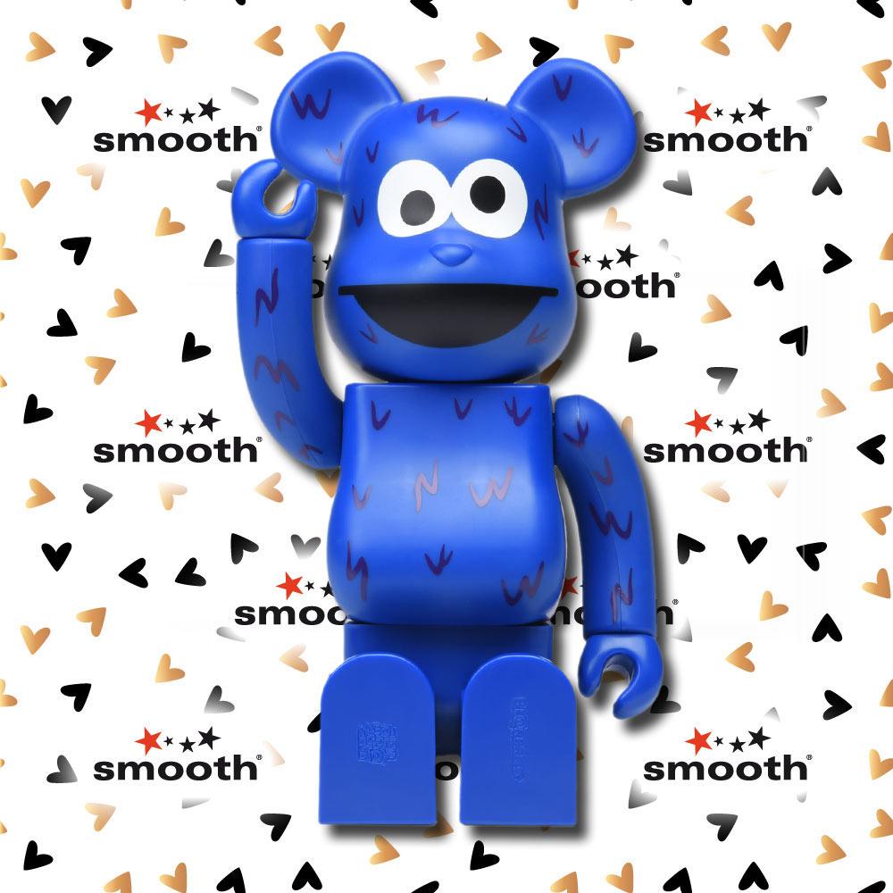 Medicom Toy Cookie Monster Sesame Street Bearbrick 400% 2016