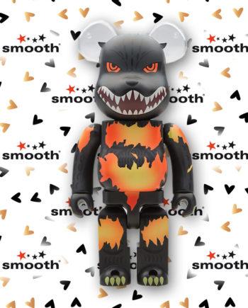 Medicom Toy Godzilla Desgodzi Burning Bearbrick 400%