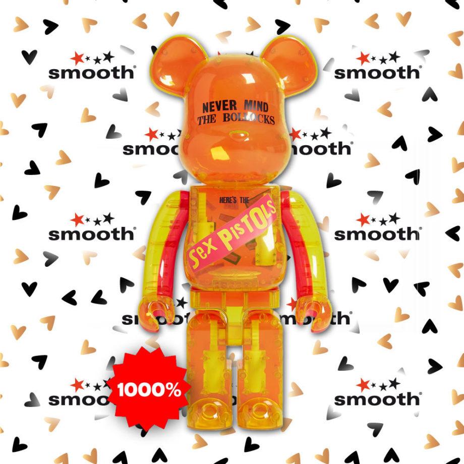 Medicom Toy Sex Pistols Clear Version Bearbrick 1000%
