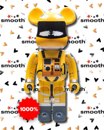 Medicom Toy Space Suit Yellow 1000% 2001 A Space Odyssey Kubrick
