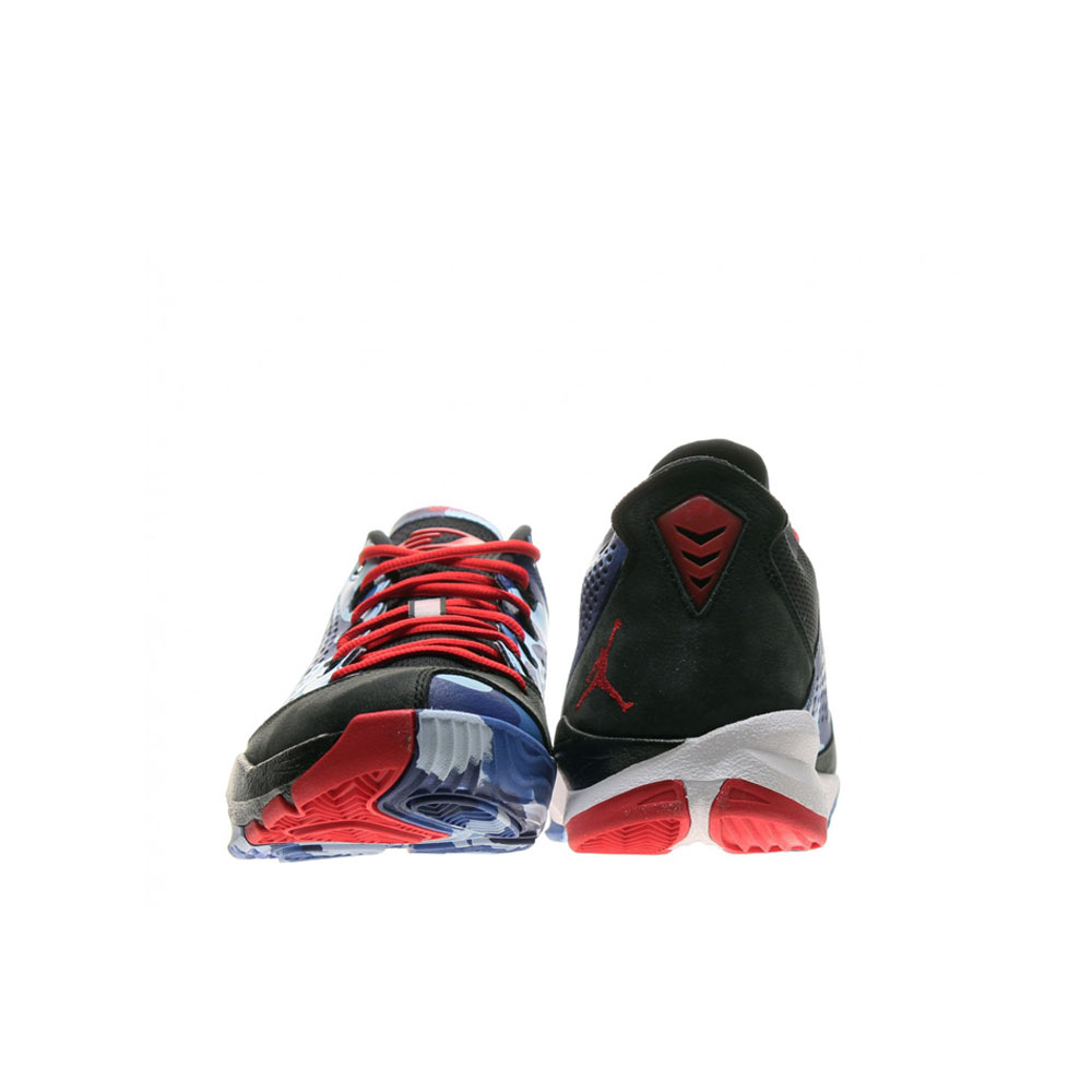 newest 312e0 f3300 Nike Air Jordan CP3 VII 616805 012 black chambray blue game royal sport