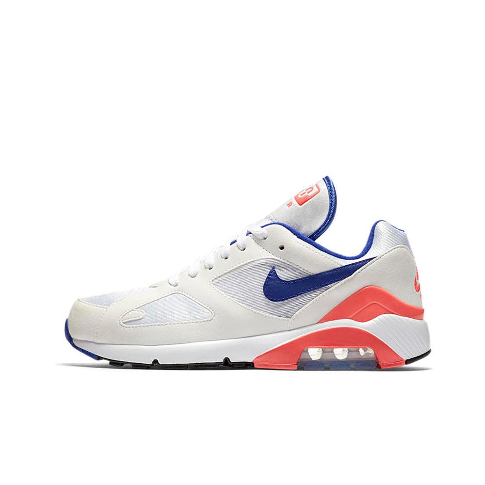 Nike Air Max 180 White Ultramarine Solar Red 615287100