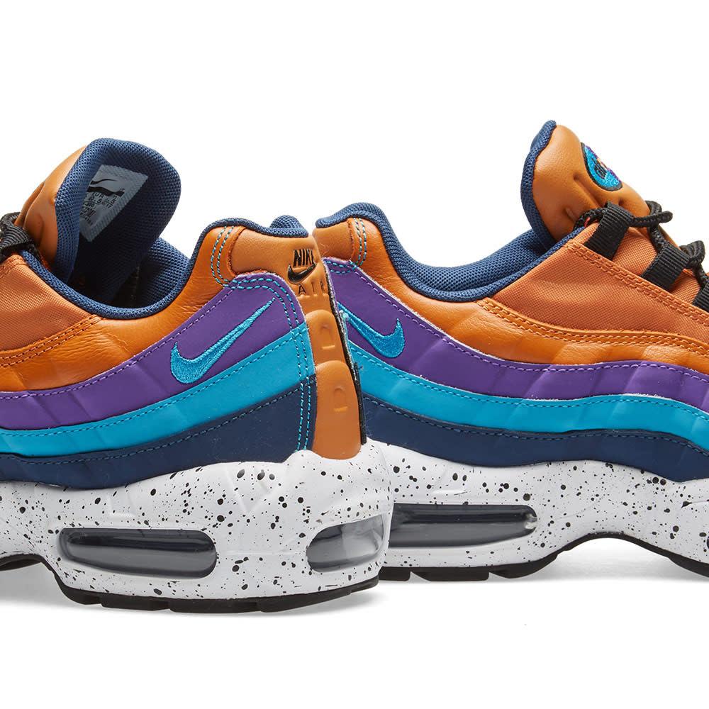 Nike Air Max 95 Premium 538416800 Monarch Light Blue Fury