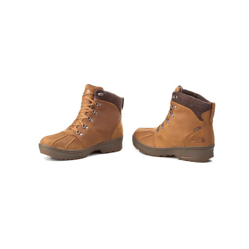 e611fd354 The North Face Ballard Duck Boot TOCVX0DTU-12H Glazed Ginger Brown Desert  Palm Brown