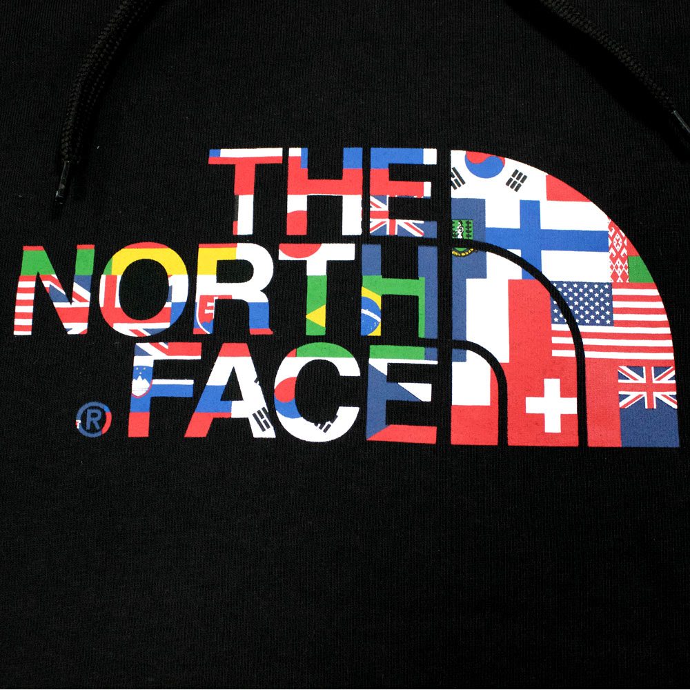 Ic Free Shipping >> The North Face Logo Hoodie IC Black International Collection