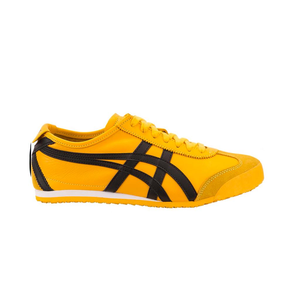 los angeles 6ca63 c6495 Onitsuka Tiger Mexico 66 Shoes DL408.0490 Yellow/Black