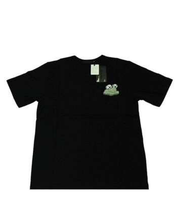 Original Fake Kaws Cloud Black Tee