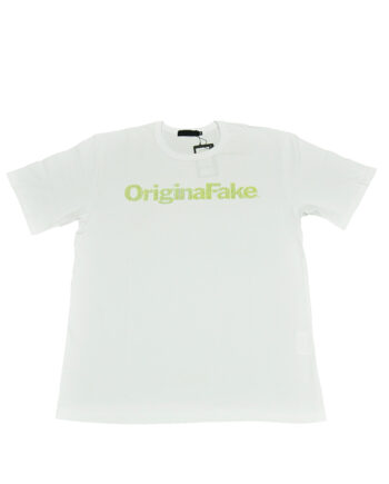 Original Fake Kaws Logo White Tee