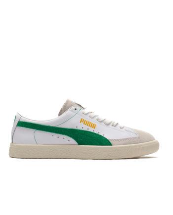 Puma Basket 90680 Sneakers 36594406 Puma White-Amazon Green