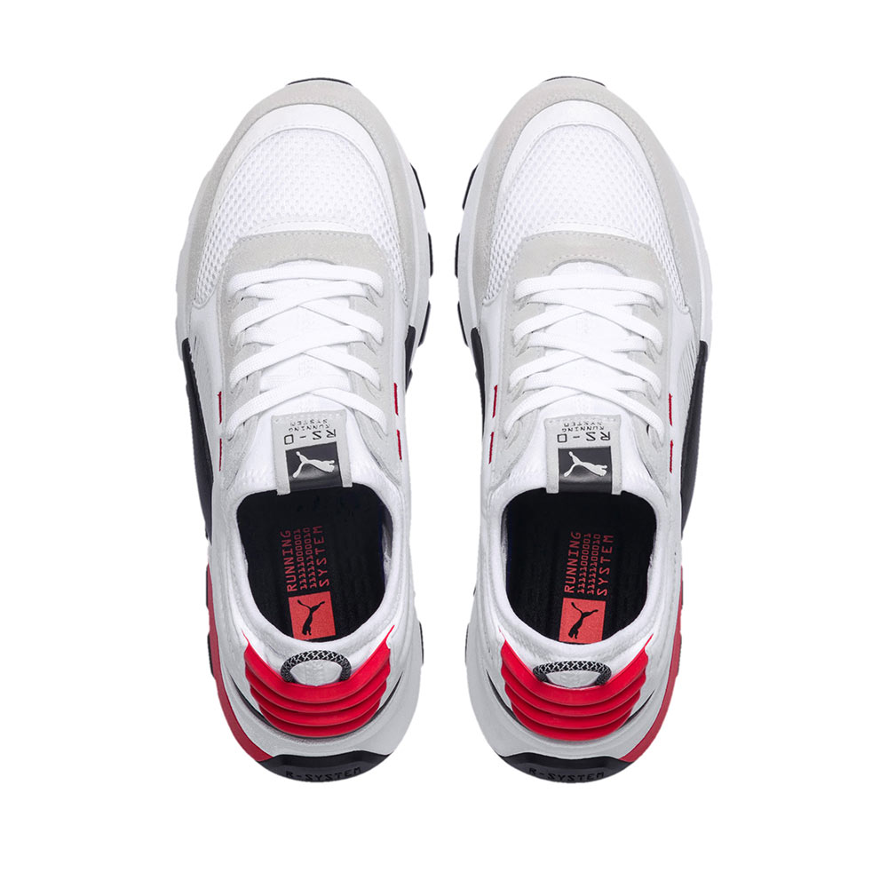 new style f9ce1 9bab9 Puma RS-0 Winter Inj Toys Sneakers 369469 01 White-High Risk Red