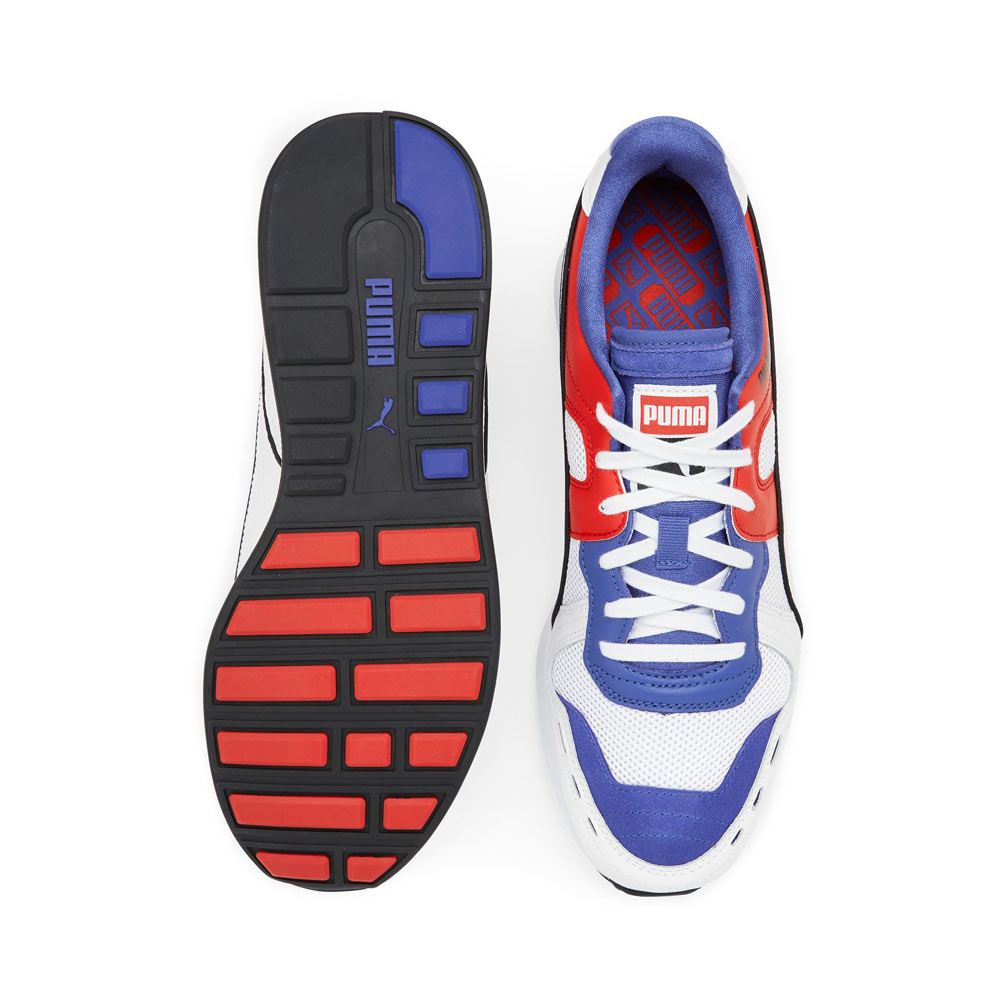 4fb35a7535f Puma RS-100 Sound 368025 01 Dazzlin Blue High Risk Red White
