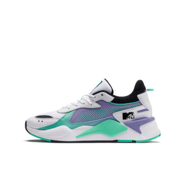 new product 2cc0b a6e84 Puma RS-X Tracks MTV Gradient Blaze Sneakers 37040701 White