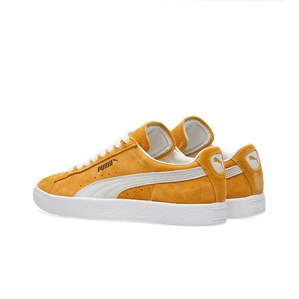 huge discount 01bc9 68ceb Puma Suede 90681 Honey Mustard 365942 03 White