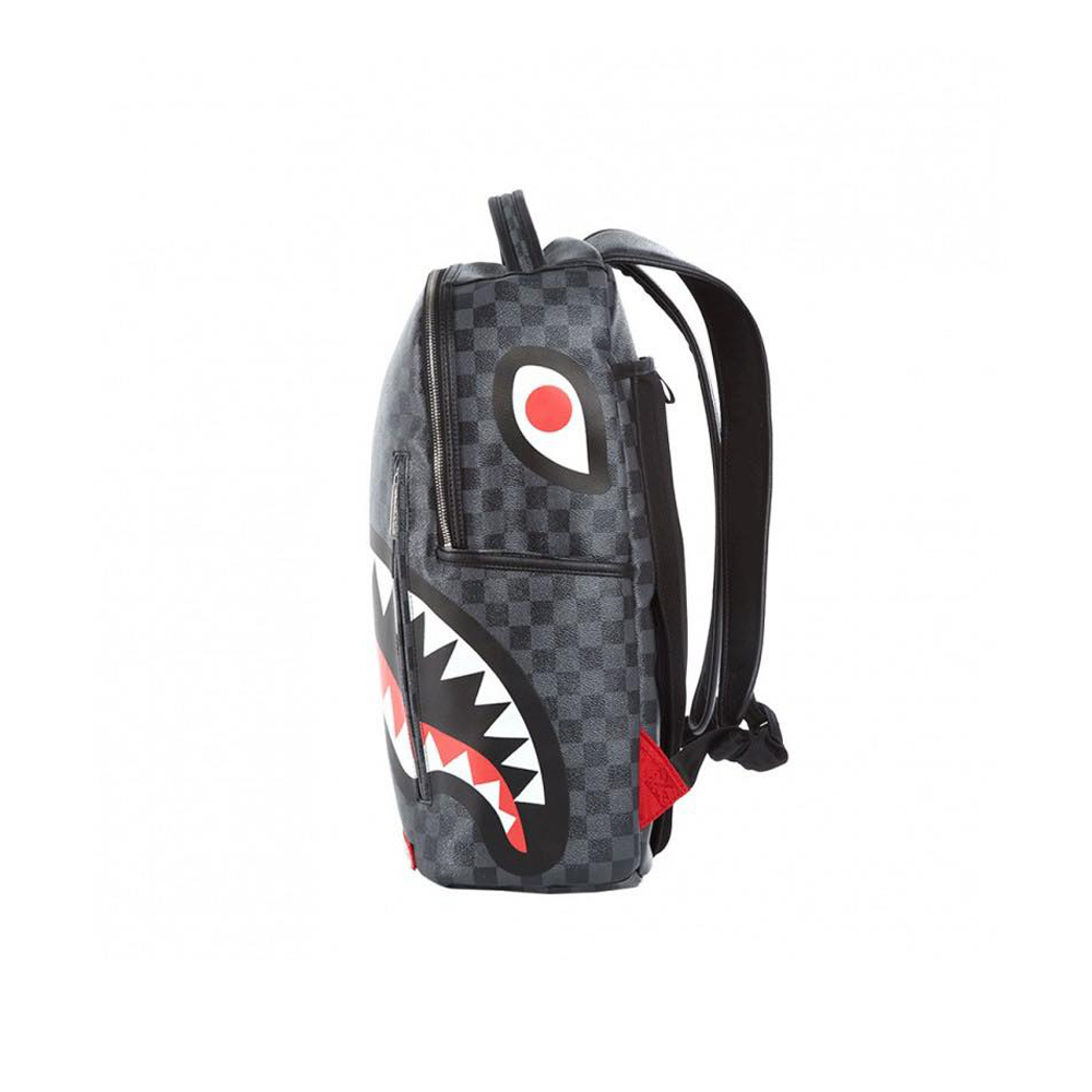 miglior servizio 4ff5c 9be19 Sprayground Shark in Paris Backpack Black Zainetto in pelle