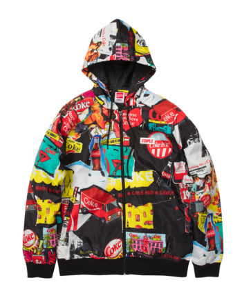 Staple X Coca-Cola Collage Hooded Jacket