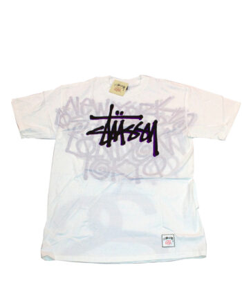 Stussy Alter Tee White Limited Edition