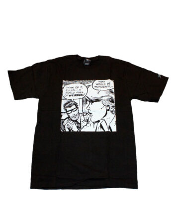 Stussy Customade x Domino Records SS The Weirdos Black Tee Limited Edition SFSC3902140