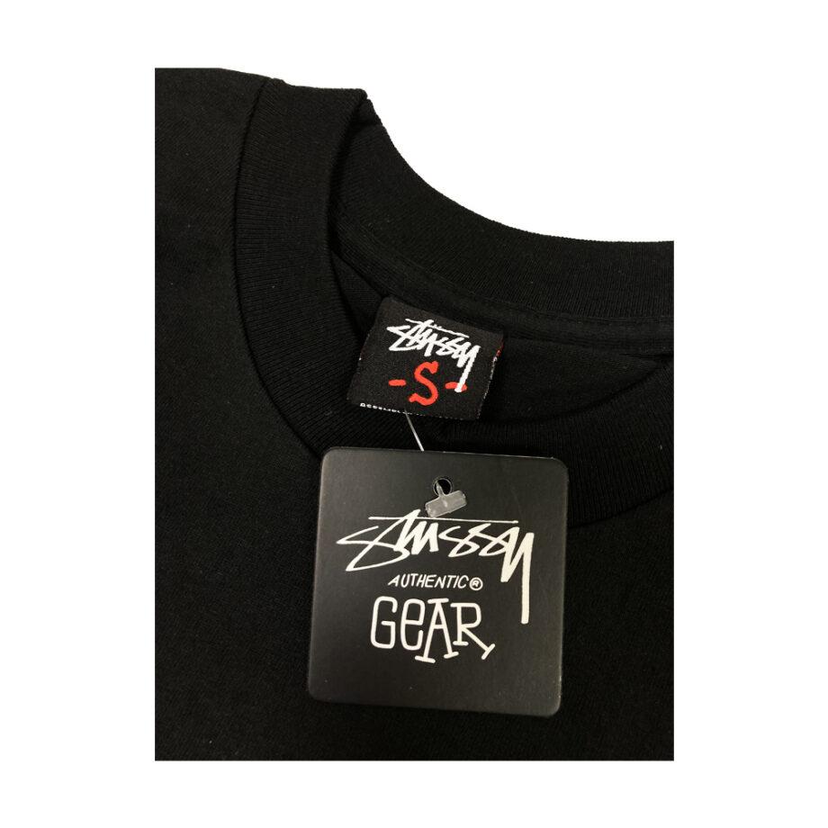 Stussy Customade Diabolical Gear Head Black Tee Limited Edition FCSC1901918