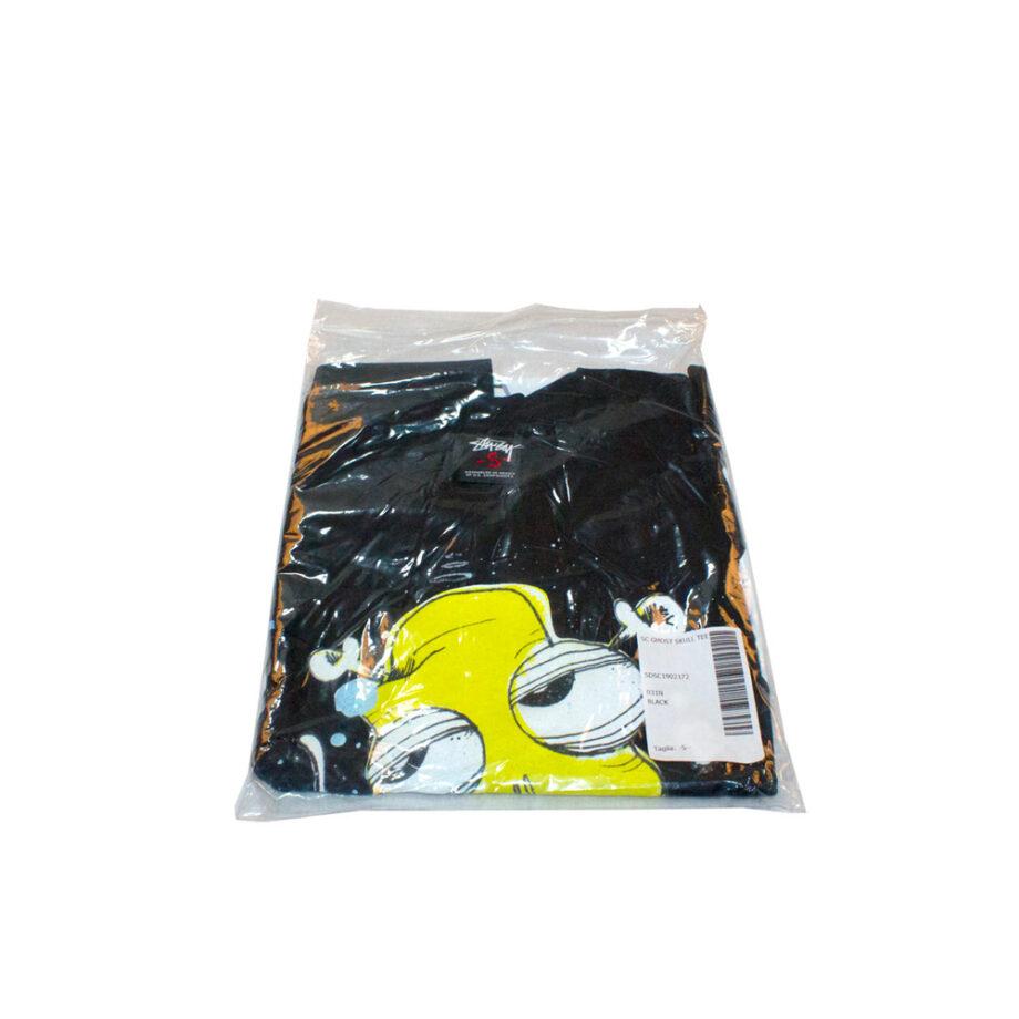 Stussy x Ghost Skull Tee Black Limited Edition 1902172