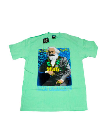 Stussy Great Minds T-shirt Marx Green Limited Edition