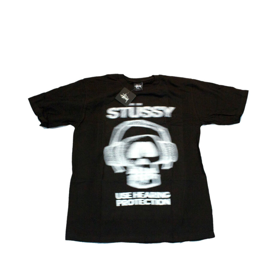 Stussy Akeem Hearing Protection Tee Black LImited Edition