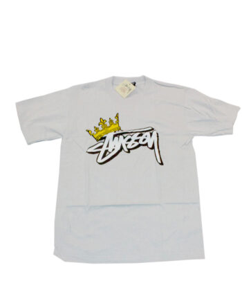 Stussy King Stock Tee Ash Gray LImited Edition 1901145