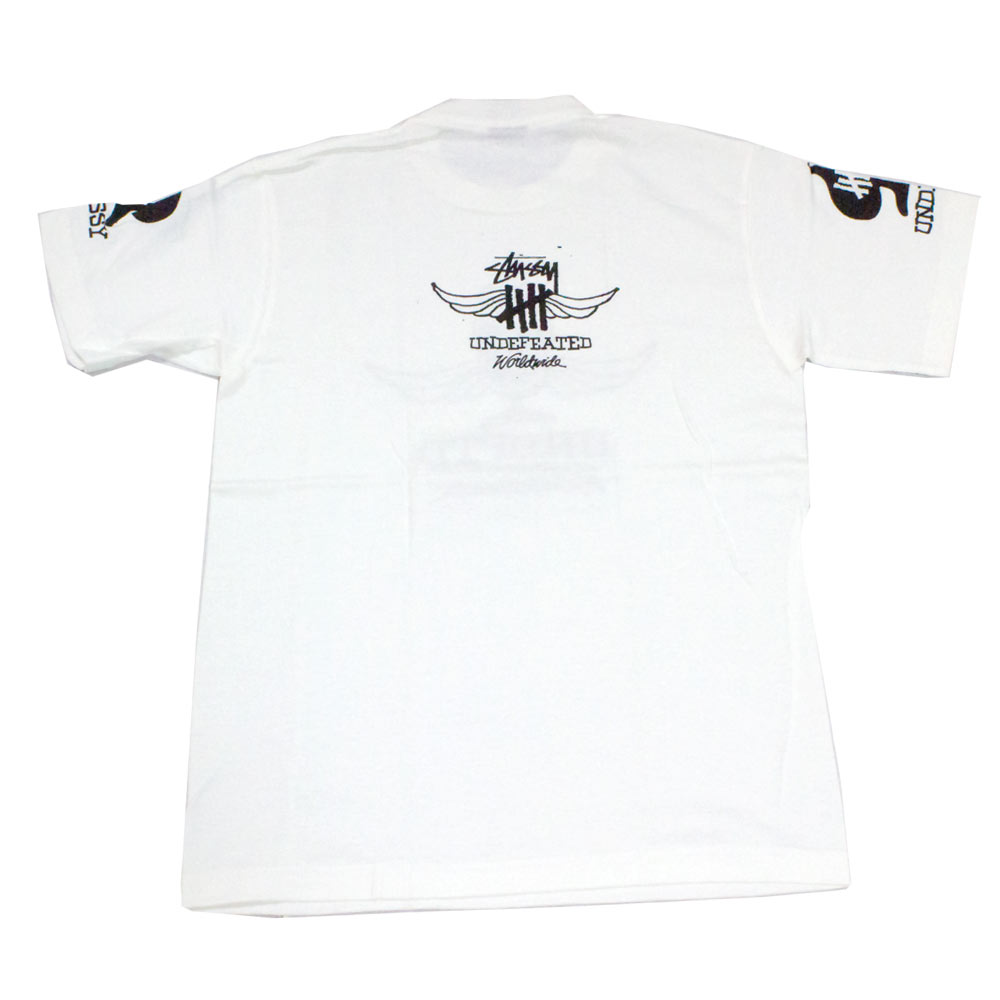 Stussy Undefeated Worldwide T shirt manica corta serie limitata