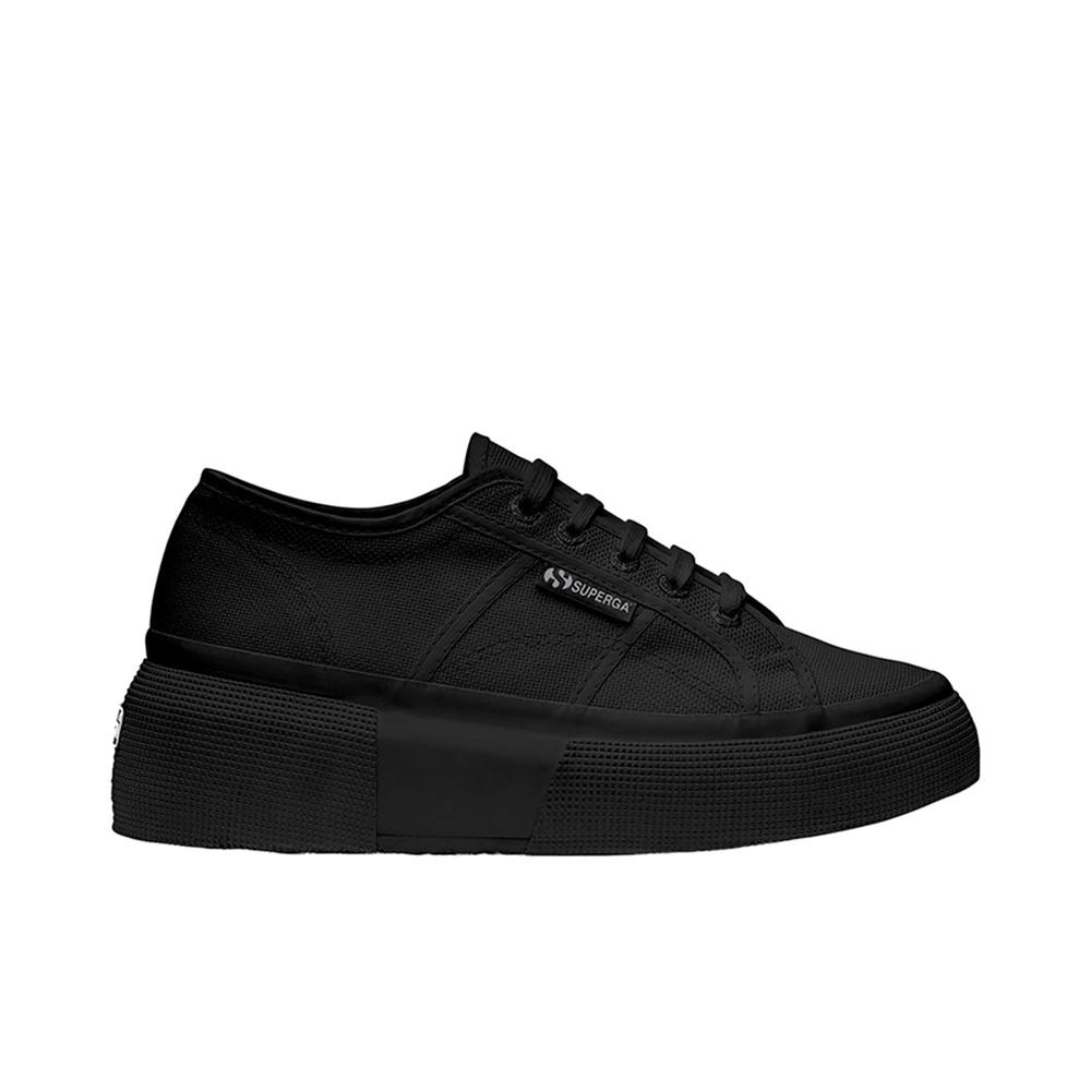 buy popular a63ea fca31 Superga 2287 COTW Woman Shoes S00DQS0 997 Total Black 2019