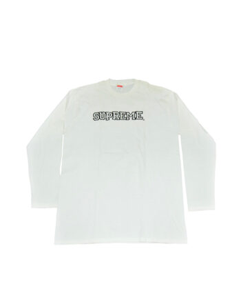 Supreme Vintage Long Sleeve Tee White