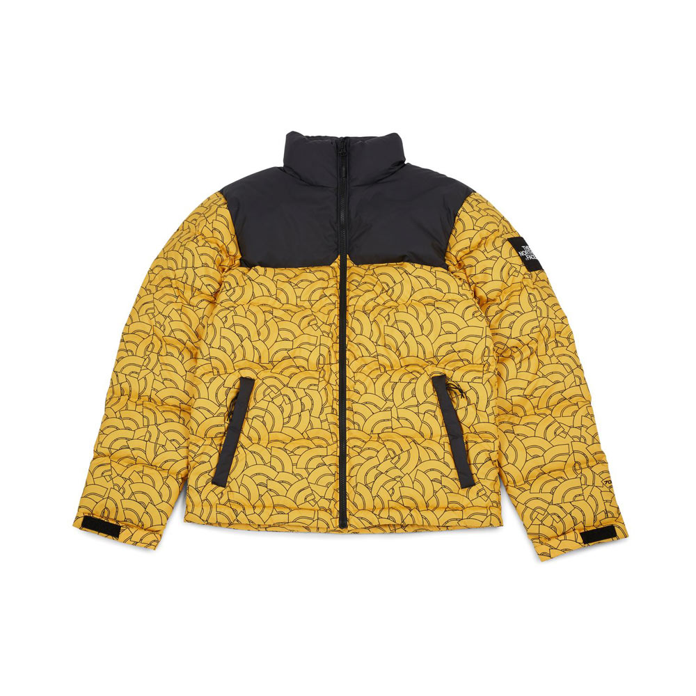 100% high quality incredible prices super popular The North Face 1992 Nuptse Jacket TNF Yellow Dome Print