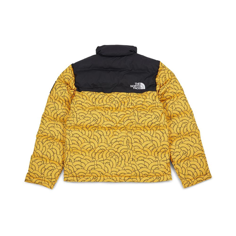 vari colori c9b6e 52b62 The North Face 1992 Nuptse Jacket TNF Yellow Dome Print