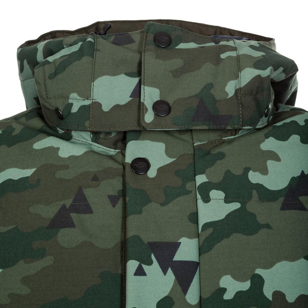 7f01c707c The North Face Box Canyon Jacket Rosin Green Camo Print