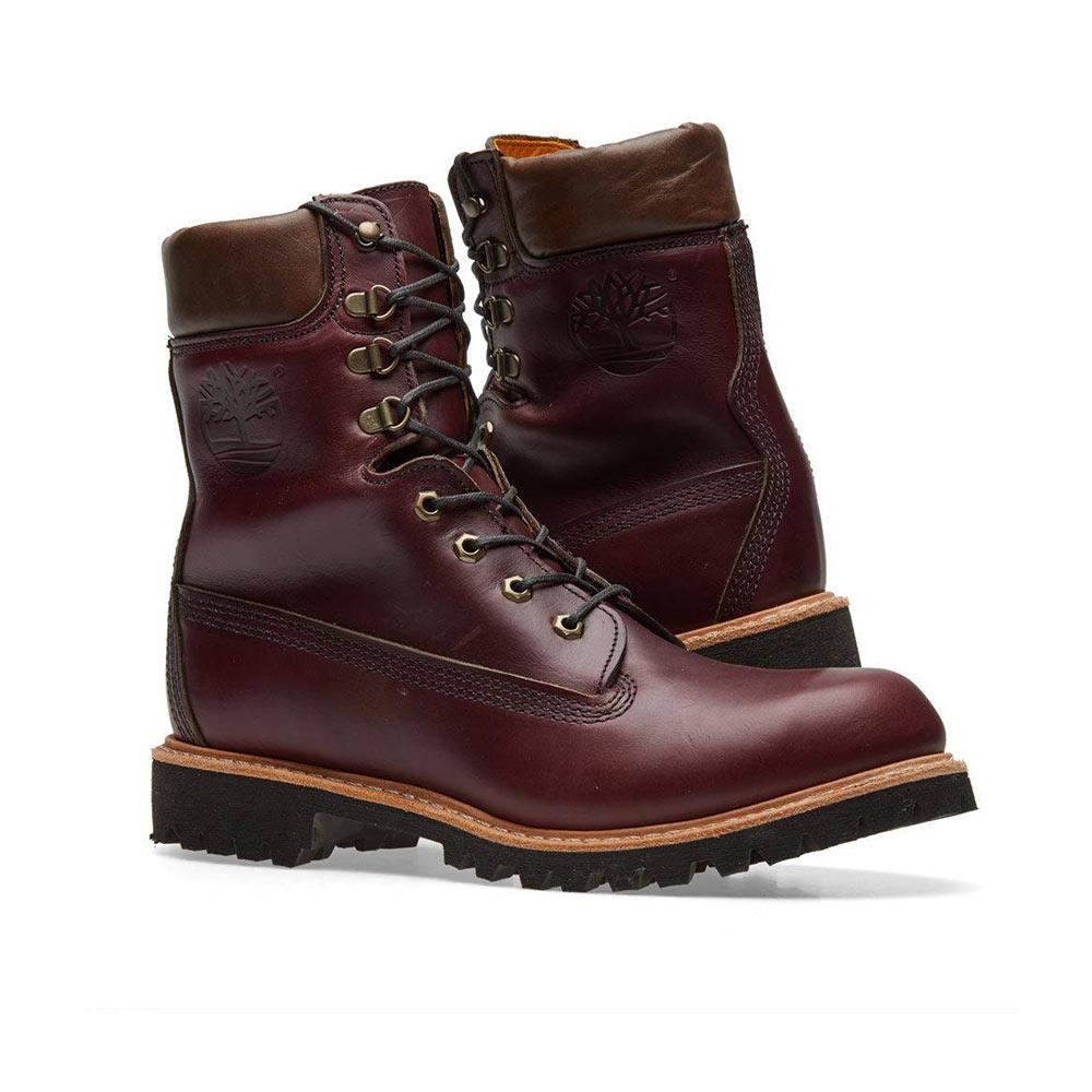 Rareza éxtasis Pase para saber  Timberland Vibram 8-Inch Waterproof Boots Burgundy Horween 40 years