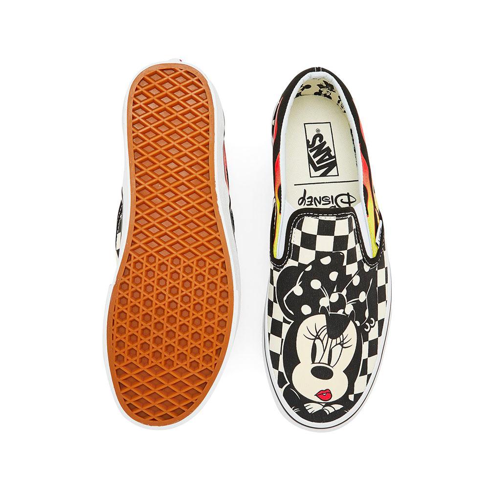 b37510b99473 Vans Classic Slip-On Mickey   Minnie Mickey Mouse 90th Anniversary