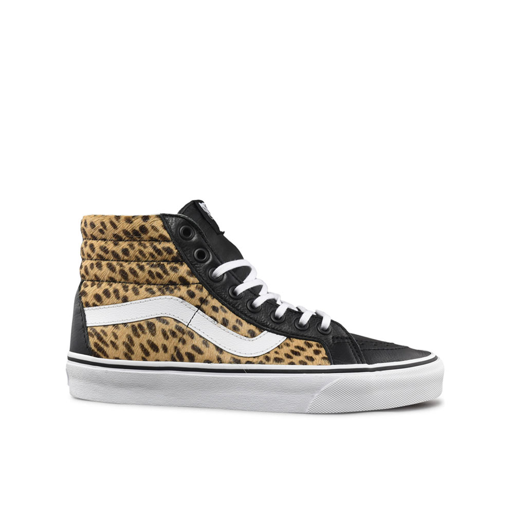 844562738479 Vans Sk8 Hi-Reissue Calf Hair Fall/Winter 2019 Collection Multi/True ...