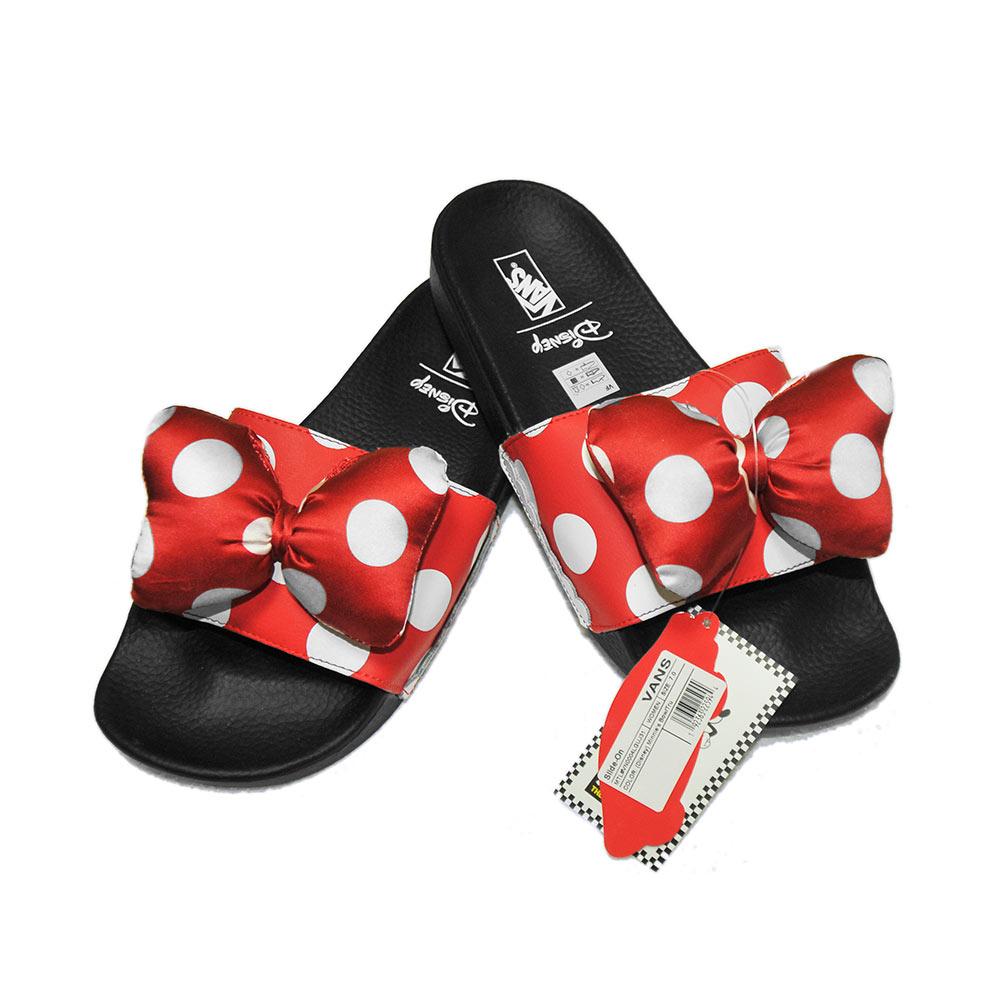 Vans Slide-On Minnie's Bow/Tru (Disney